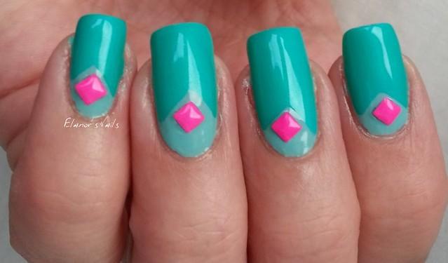 greens pink studs 2