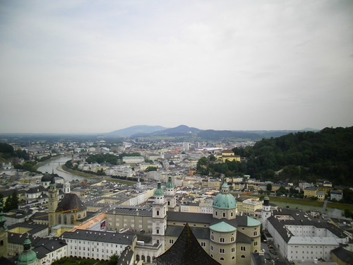 Una vista panoramica di Salisburgo