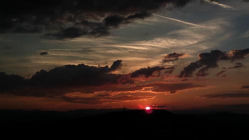 sunset sarajevo bosnia herzegovina nokia808pv