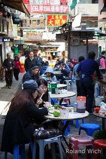Hong Kong - Food stalls near Central