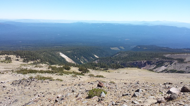 View from Mount Shasta