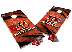 Cincinnati Bengals Custom Cornhole Boards XL