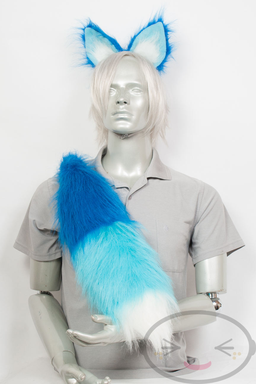 tail and Cosplay ears