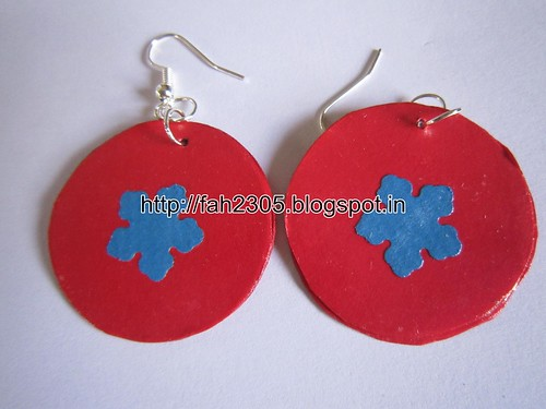 Handmade Jewelry - Paper Punch Earrings (10) by fah2305