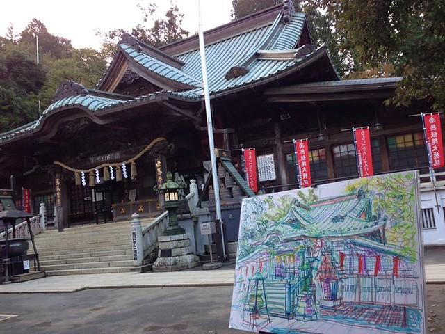 薬王院(Yakuo-in main hall)
