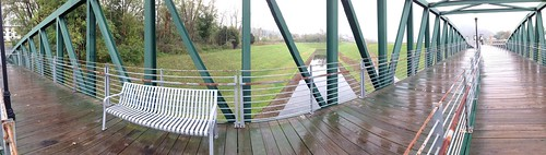 C&O Canal Basin Bridge Panorama, Cumberland