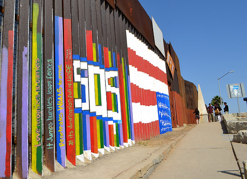US/Mexico border is focus of immigration debate