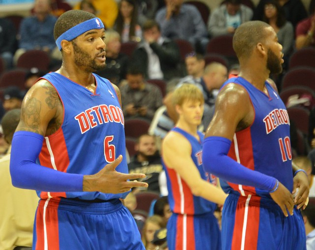 Josh Smith and Greg Monroe from Flickr via Wylio