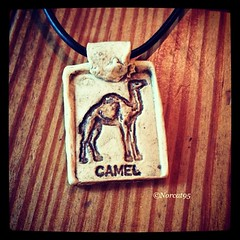 """Camel"" pendant"