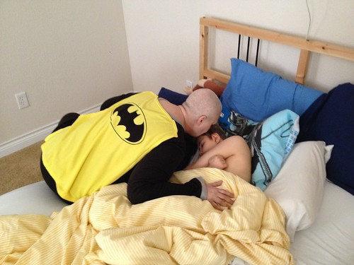 BatNonni waking Max up
