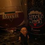ベルギービール大好き!! ブッシュ・ド・ノエル Bush De Noel @ビスカフェ