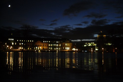 Neues Schloß at night III
