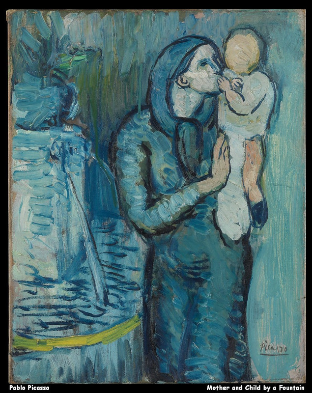 Pablo Picasso - Mother and Child by a Fountain