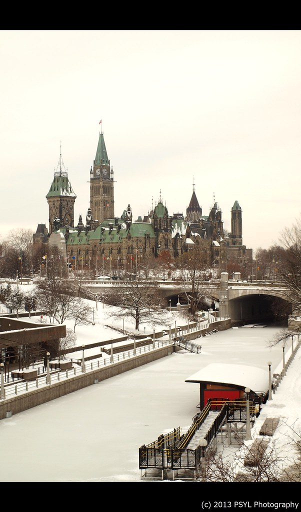Parliament and Rideau Canal