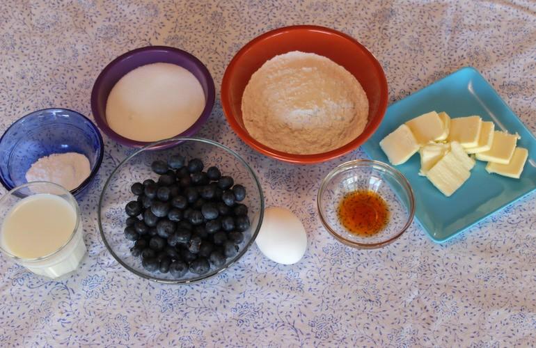 Blueberry Cake Image 1