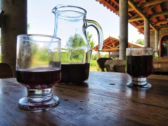Local wine in Concepcion, Bolivia