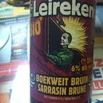 ベルギービール大好き!! レールケン ビオ サラシン ブリューンLeireken BIO Boekweit Bruin