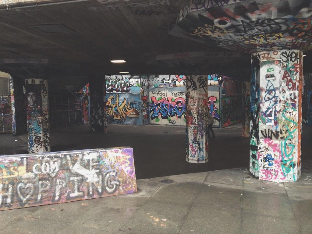Skate park, Southbank