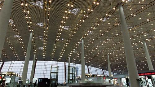 映画『フォスター卿の建築術』北京空港