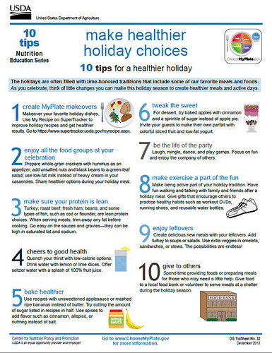 10 Tips Nutrition Education Series: Make Healthier Holiday Choices