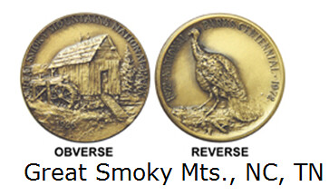 Great Smoky Mountains medal