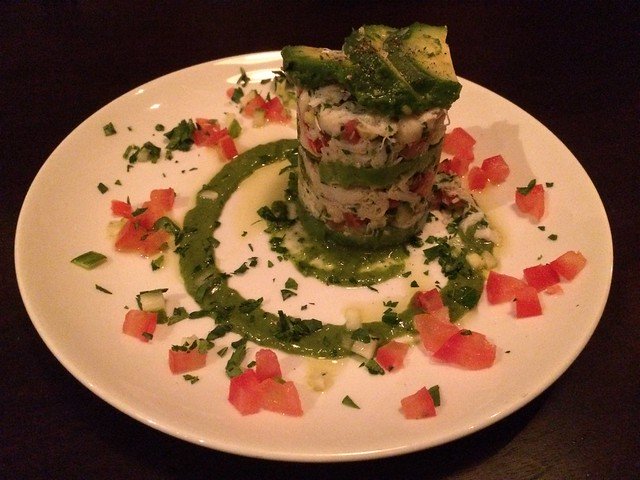 Granchio dungeness crab tower - Pesce