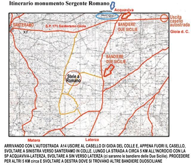 sergente romano mappa luogo