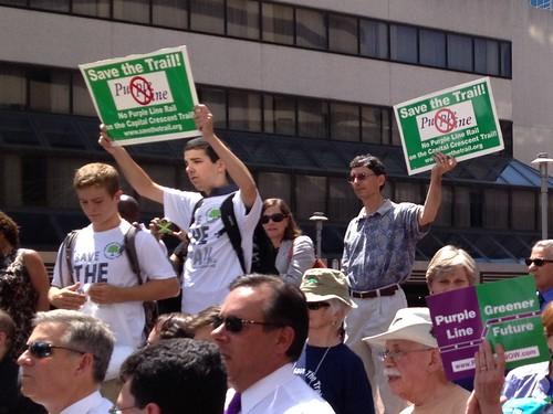 Purple Line Rally, August 5 2013 (cropped)