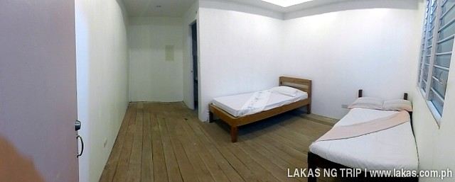 Panoramic photo of one of their rooms - Gawad Kalinga Lodge & Resort, El Nido, Palawan, Philippines