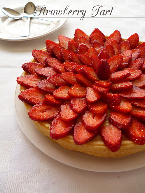 Raspberry Bloom: Strawberry Tart