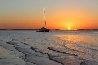 Fraser Island, Kingfisher Bay sunset IMG_2355