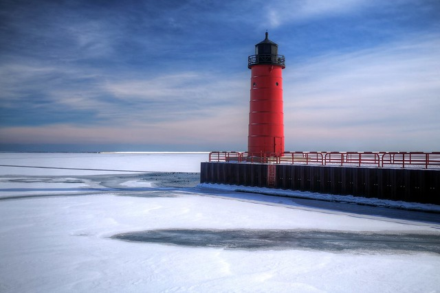 Winter, Milwaukee Bay