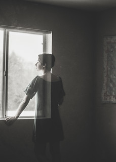 The Girl at the Window (7/365)