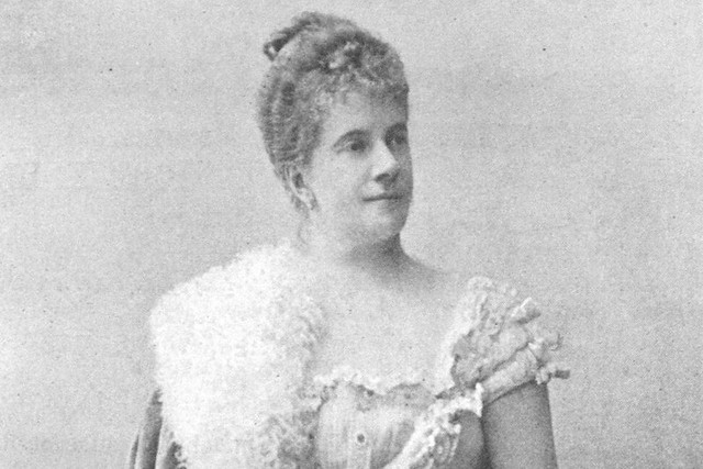 Pauline de Ahna, photographer unknown, circa 1900