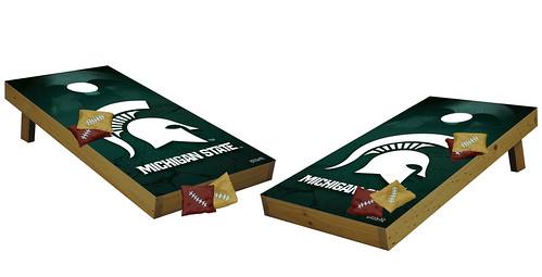 Michigan State Spartans Premium Cornhole Boards