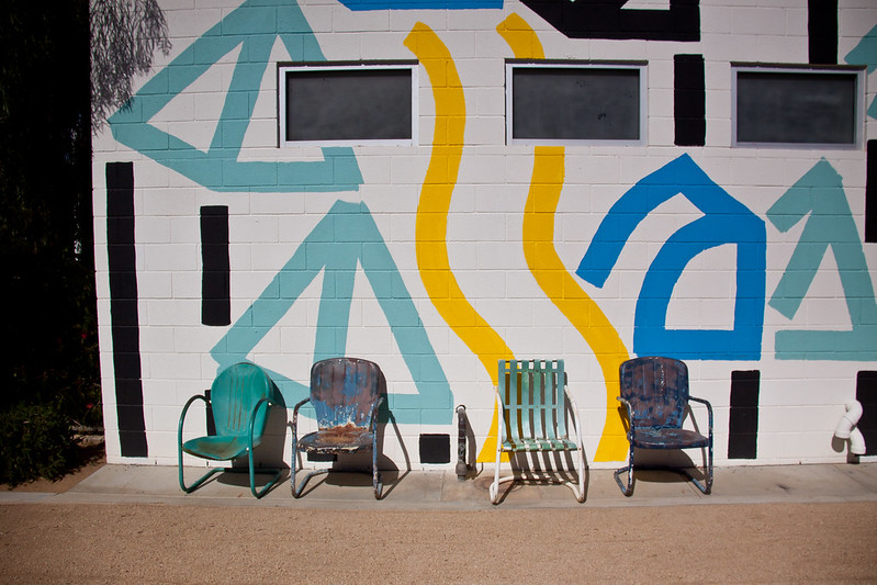 Chairs at The Ace Hotel, Palm Springs