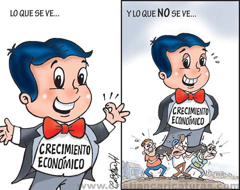lo que se ve del crecimiento económico