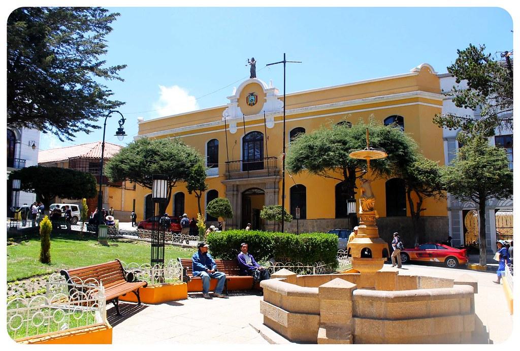 potosi central plaza