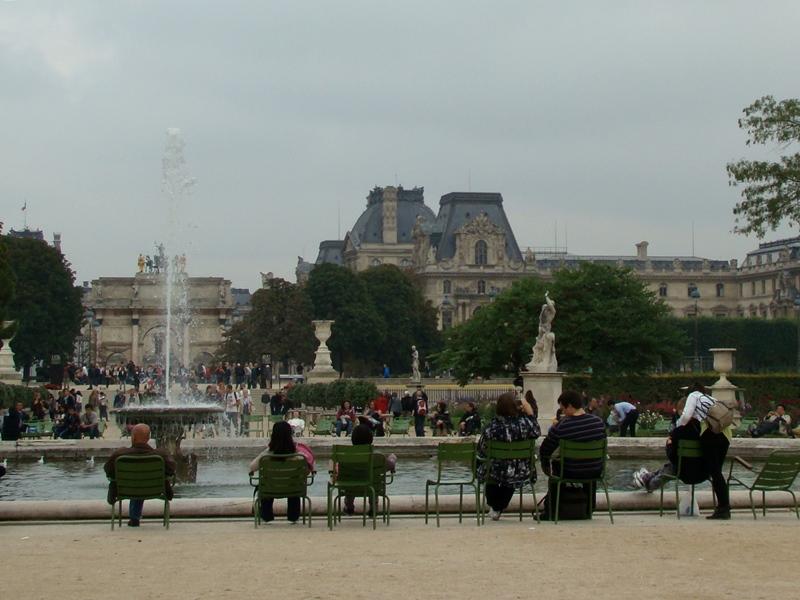 Tuileries Louvre