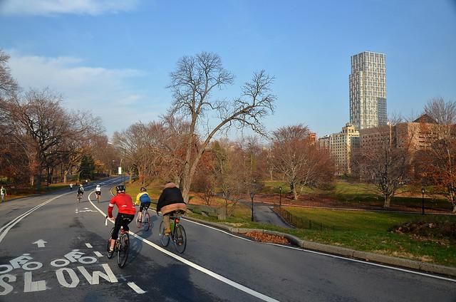 Bicicletas por Central Park Nueva York