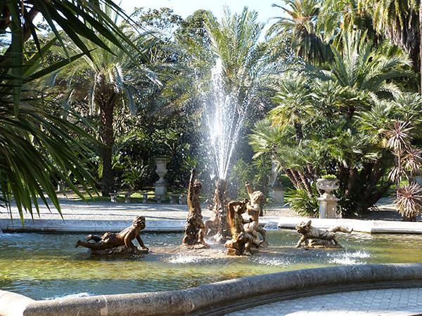 fontaine aux faunes