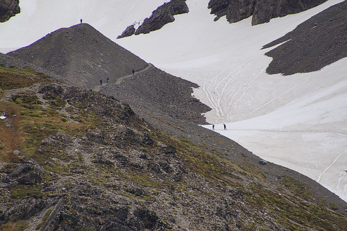 030 Wandeling bij Martial gletsjer