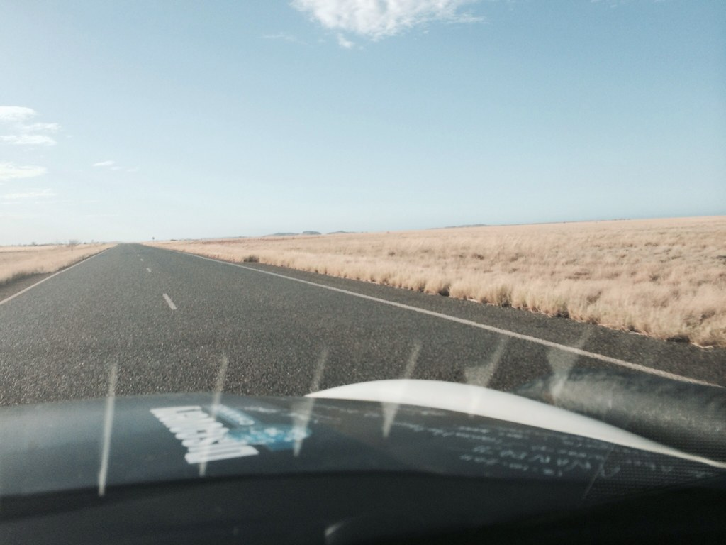 Status after day 2: 72 hours on the road and done 7575 km. Its warm dry and empty!