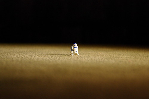 R2D2 alone by ford dagenham
