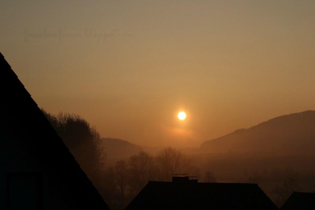 12 von 12 | Sonnenaufgang
