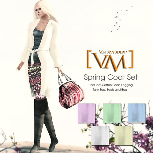 [VM] VERO MODERO  Spring Coat Sets All Colours