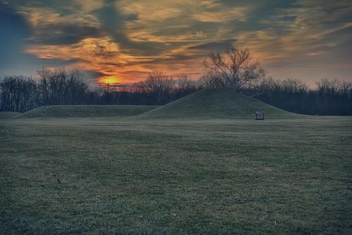 park city sunrise indian culture national historical chillicothe mound hopewell hopewellculturenationalhistoricalpark