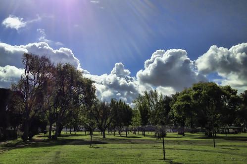 Furman Park sky