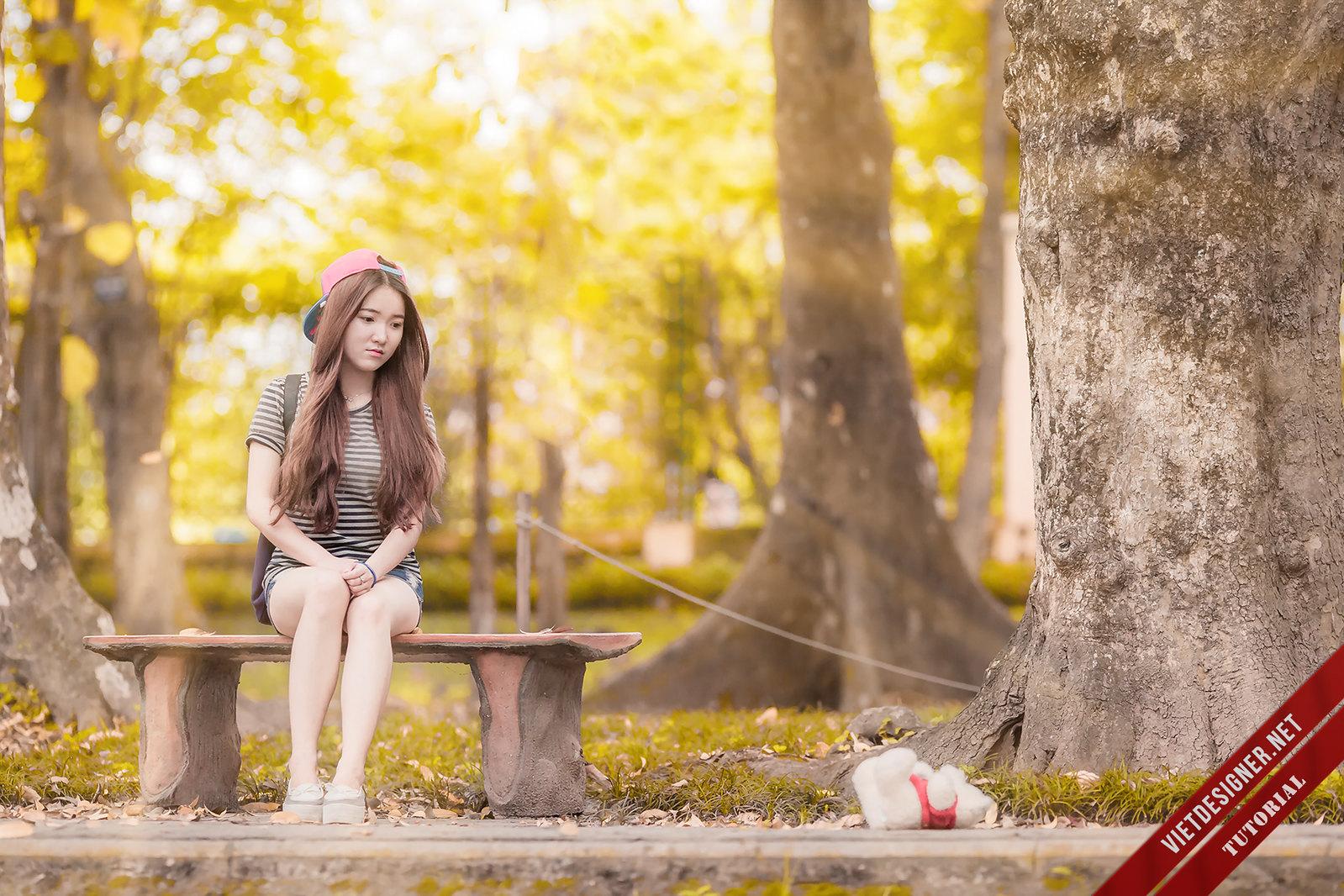 Hướng dẫn blend màu nắng vàng óng ả kết hợp Photoshop và Lightroom
