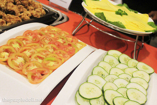Tomatoes, Cucumbers and Cheese